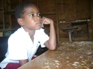 niño cubano de la montaña