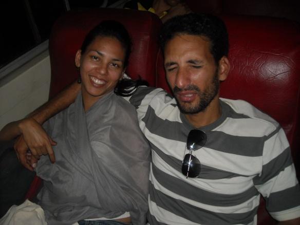 Chely y Carlos, una parejita integrante del grupete de blogueros