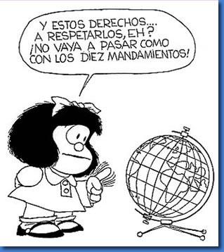 Caricatura tomada de Internet